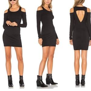 Chaser Cold Shoulder Cutout Dress NWT